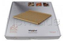 Whirlpool BANDEJA OVEN CLAY - 350x345x41.5mm 484000000276