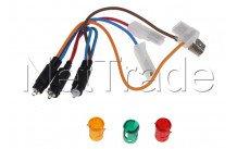 Ariston - Conjunto lampara verde/rojo/amarillo neo - C00271960