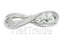 Universal - Cable de extemsión 3 x 1,5 5m embalado blanco
