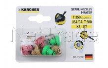 Karcher - Accesorios de boquillas de recambio t 350 - 26433350