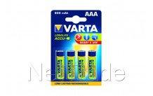 Varta - Oplaadbare batterij ni-mh aaa 800 mah r2u 4 st - 56703101404