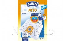 Swirl - Bolsa para aspiradora m50 embalaje con 4 piezas  (fjm) - M50