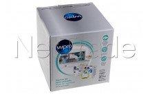 Wpro - Kit de mantenimiento que incluye 1 caja de tabletas + 1 caja de sal - 484010678192
