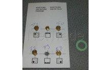 Beko - Toberas de inyección butano/propano- juego - 4431910057