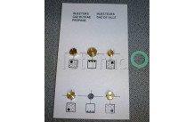 Beko - Toberas de inyección  - kit - g30 - 4431910048
