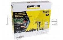 Karcher - Set de limpieza para coche de 7 piezas, aspiradora para húmedo/seco dn3 - 28633040