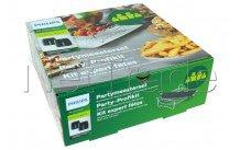 Philips - Airfryer - rejilla - party kit - doble capa acc. & ske - HD995000