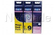 Oral-b - Cabezales de cepillo de dientes   eb60 sensi ultrathin refills 3+3+3 - 80339524