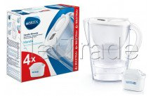 Brita fill y enjoy marella cool blanca  + 4 maxtra+ filtro - 1040691