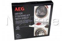Aeg - Kit de apilado con bastidor extensible para lavadoras y secadoras aeg   skp11gw - 9029797942