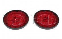Nilfisk - Ruedas traseras rojas (2pcs) coupe neo - 78602711