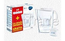 Brita fill y enjoy marella cool blanca  + 4 maxtra+ filtro - 1040843