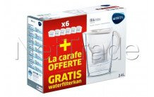 Brita - Fill & enjoy marella cool white half year pack - 1037743