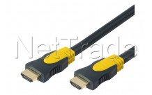 Erard - Hdmi 1.4 flex - 4k ultra hd - alta velocidad con ethernet - tipo macho / macho -  2m - 726830