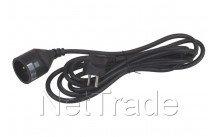 Universal - Cable de extemsión 3 x 1.5 3m embalado negro