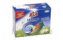 Eca - 25 tabletas para lavadora sin fosfato