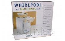 Whirlpool - Tussenkader met droogrek - 481281719157