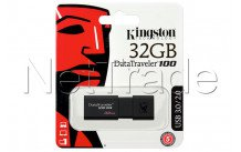 Kingston datatraveler 100 generation 3 - 32gb usb3.1 unidad flash negro - DT100G332GB
