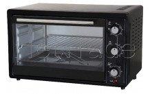 Tecnolux - Mini oven 33l 1600w zwart/inox - GT33RC01NOIR