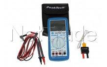 Peaktech - Multímetro digital peaktech pt3335  + temp.-40/1000 ° - P3335