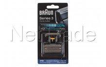Braun - Combi pack flex integral 505-serie 3-31b- negro - 81387938