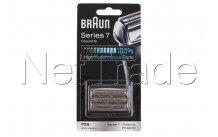 Braun - Cabezal de recambio pulsonic - serie 7 - 70s - plateado - 81387979