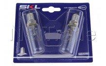 Universal - Lámpara campana extractora t25l e14 40w - set 2pcs