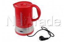 Tecnolux - Hervidor de agua con selección de temperatura, contenido 1.70l, potencia 1850w, color rojo - PB17M1RT