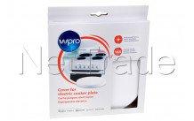 Wpro - Sierdeksel elektrische kookplaat - wit (ø165 mm) - 484000008620