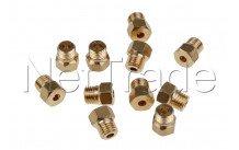 Whirlpool - Set de toberas de inyección - gas natural - g20/25 - 480121103646