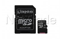 Kingston canvas select microsd uhs-i class 10 card 64gb - SDCS264GB