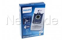 Philips - Bolsa para aspiradora orig sydney/ mobilo classic- bolsa peq/4 pzs. - FC802103
