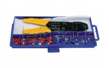 Cogex - Maleta con virolas de cable herramienta crimp 200 mm - 22106