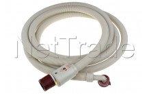 Whirlpool - Tubo de suministro aquastop - 4 metros - recto/curvado - 3/4