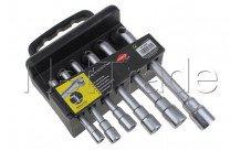 Cogex - Clave con tubo de apertura de 6 piezas: 8-10-11-13-15-17 mm - 3569