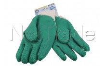 Cogex - Guantes de jardin -  tamaño 10 - algodón de apoyo - 83181