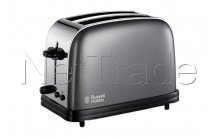 Russell hobbs - Tostadora colours storm grey long slot - 2139256