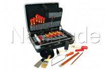 Europart - Caja de herramientas + 23-piezas surtido