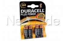 Duracell plus - mn1500 - lr06 - aa - 1.5v - bl.4st - MN1500