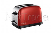 Russell hobbs - Tostadora colours flame red long slot - 2139156