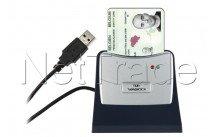 Onespan (vasco) - Lector de tarjetas de identidad - 905b blister lente vasco con base e-id bélgica - a pie - 5414602131782