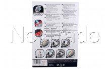 Rowenta - Bolsa para aspiradora (embalaje de 4 bolsas) ro07 - ZR200520