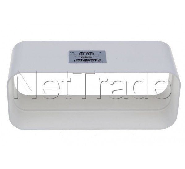 Novy - Pieza de conexión (94x227x80 mm) - 906402