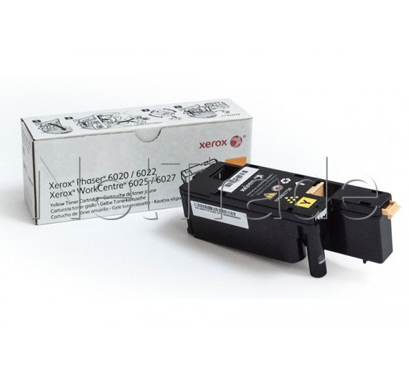Xerox toner yellow 106r02758 for phaser 6022 - 106R02758