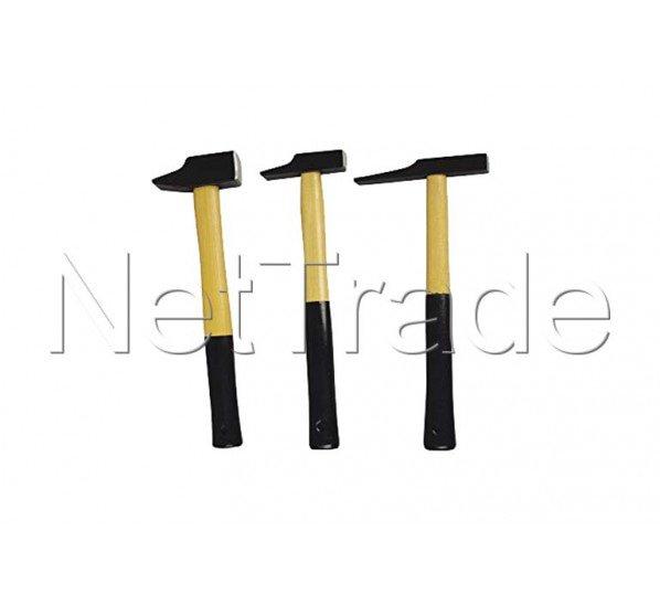 Cogex - Set de martillos (remaches, ebanista y electricista) - 19403