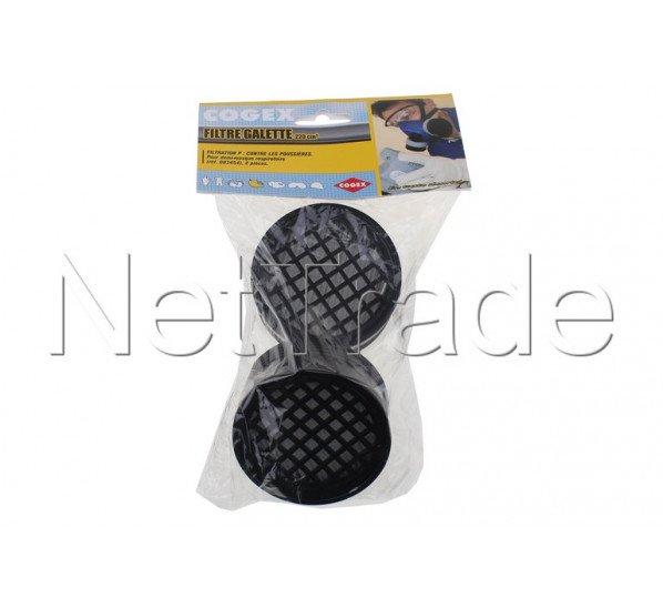 Cogex - Lote de 2 filtros de polvo de válvula. cartuchos de alambre - 83474